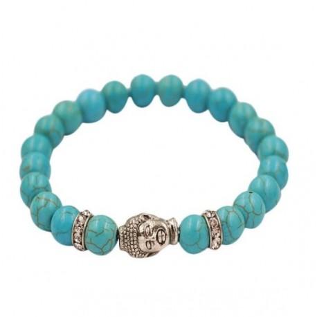 Bracelet Tibétain en Turquoise