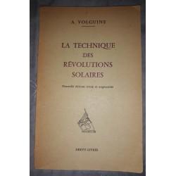 La Technique Des Revolutions Solaires A. Volguine