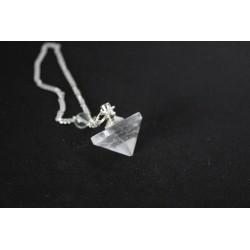 Pendule guérisseur  en cristal de roche