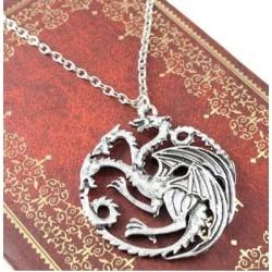 Collier Pendentif Targaryen Game of Thrones