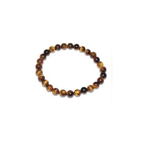 Bracelet oeil de tigre marron