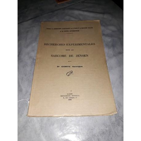 livre dédicacé par le docteur G. Coste 1934