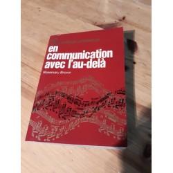 Communication avec l'au-delà ( 1972 ) LIVRE OCCAS