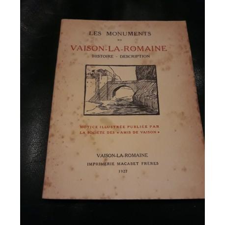 livres 1927 sur les monuments V la Romaine