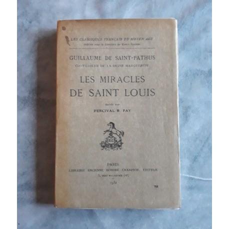 Les Miracles de Saint-Louis 1931 rare