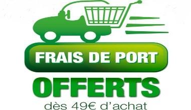 Transport offert à partir de  49 € ttc